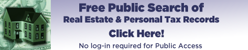 Free Public Search of Real Estate & Personal Tax Records