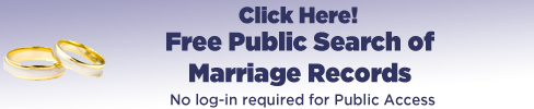 Free Public Search of Marriage Records